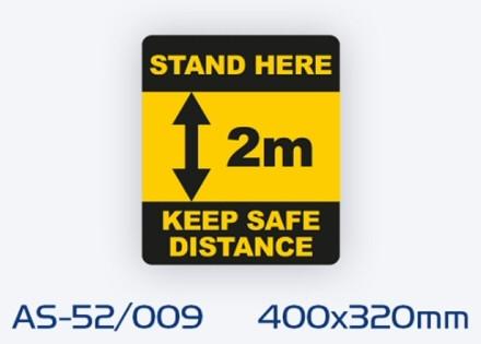 AS-52/009 Non-slip floor sign
