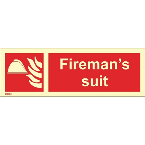 Palomiehen puku heti varastosta