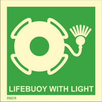 Lifebuoy with light available immediately from stock