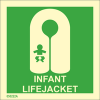 Infant lifejacket available immediately from stock