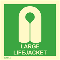 Large lifejacket available immediately from stock