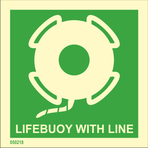 Lifebuoy with line available immediately from stock