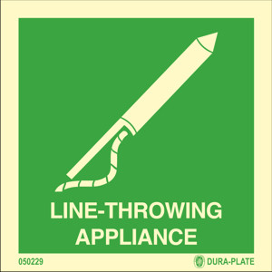 Line throwing appliance available immediately from stock