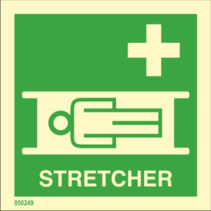 Stretcher available immediately from stock