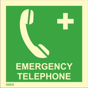 Emergency phone available immediately from stock