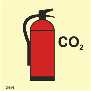 Fire extinguisher CO2 available immediately from stock