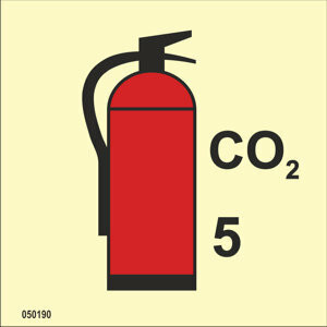 CO2 fire extinguisher available immediately from stock