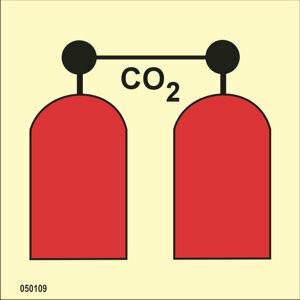 CO2-laukaisuasema heti varastosta