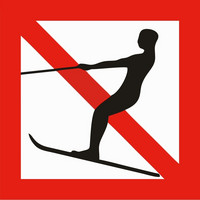 Water skiing Prohibition
