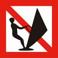 Windsurfing prohibition