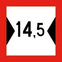 Limited travel width (meters)