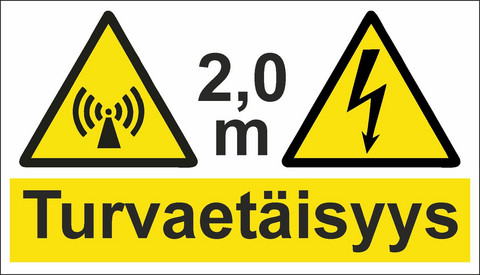 0562-20 Safety distance 2,0 m