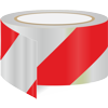 Red / white diagonal reflective tape