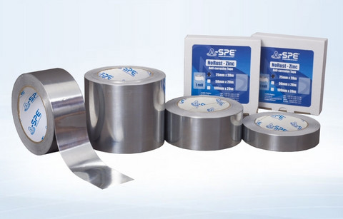 AS-63/EC NoRust Zinc Tapes with the electro-conductive properties