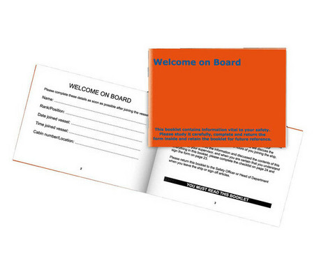 Welcome-on-Board booklet