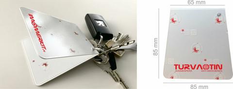 SECURLOCK KEY CHAIN ANTI MICROB
