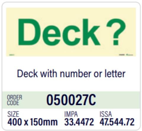 Deck?