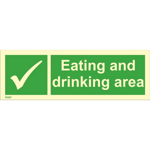 Eating and drinking area - in store