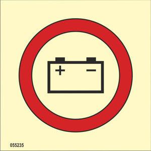 Hätävara-akku ISO 17631, PVC jälkivalaiseva heti varastosta