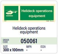 Helideck-toimintalaitteet