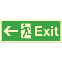 Exit, vasen heti varastosta