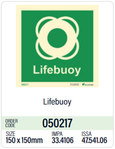 Lifebuoy in store