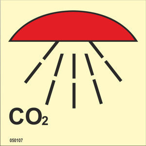 CO2-suojattu tila, varastossa