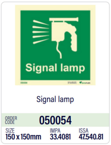 Signal lamp, Dura-Plate, in stock