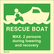 Rescue boat MAX. 2 persons