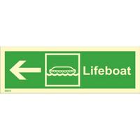 Pelastusvene, vasen