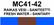 MC41-42 Raikas vesi - saniteetti | Fresh water - sanitary