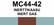 MC44‑42 Inerttikaasu | Inert gas