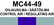 MC44-49 Ohjausilma / Säätöilma | Control air / Regulating air