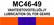 MC46‑49 Vaihteistovoiteluöljy | Lubricaition oil for gears
