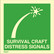 Survival craft pyrotechnic distress signals available immediately from stock