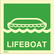 Lifeboat available immediately from stock