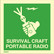 Survival craft portable radio available immediately from stock
