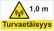 0561-10 Safety distance 10 m