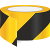 AS-20 Yellow / black diagonal reflective tape from stock