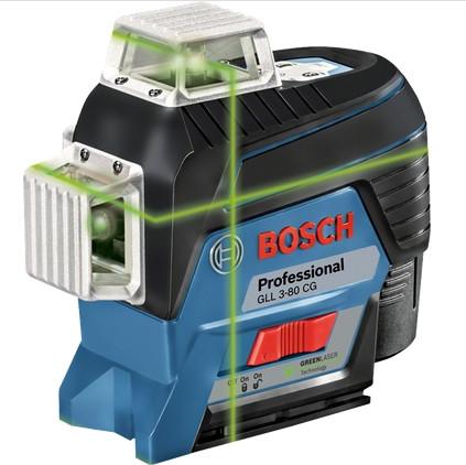 Bosch GLL 3-80 CG Linjalaser 12V 1x2,0Ah