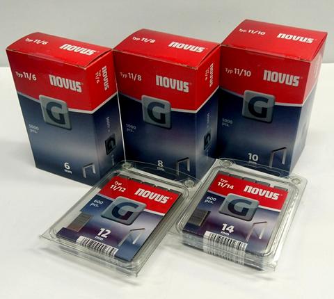Novus G-Sinkilä (Tyyppi 11/nro 140) 12mm 600kpl/pkt
