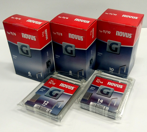 Novus G-Sinkilä (Tyyppi 11/nro 140) 10mm 5000kpl/pkt