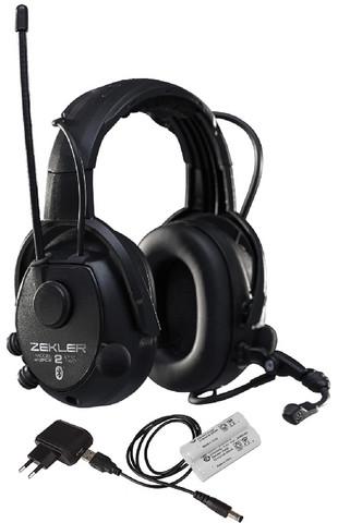Zekler 412RDB Radiokuulonsuojain Bluetooth sis. AKKU+LATURI!