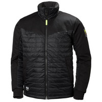 Helly Hansen 73251 Aker Insulated Jacket, Musta