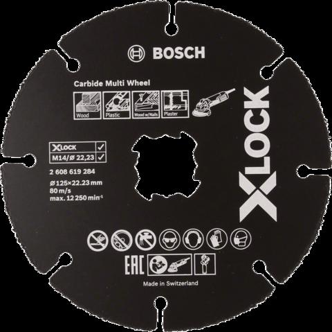 X-LOCK Carbide Multi Wheel -katkaisulaikka