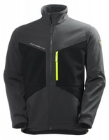 Helly Hansen 74051 Aker SoftSell Jacket, Dark Grey