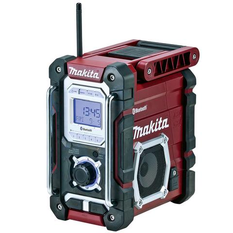Makita DMR108AR Työmaaradio Bluetooth CXT / LXT Punainen