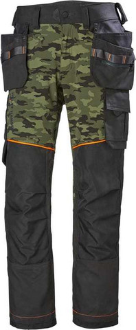 Helly Hansen 77441 Chelsea Evolution Construction riipputaskutyöhousut Camo