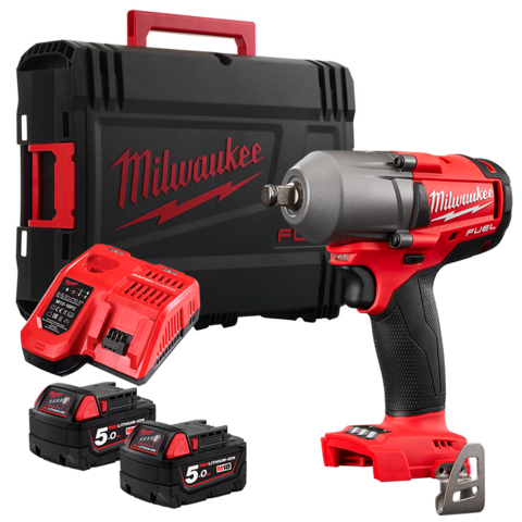 Milwaukee M18 FMTIWF12-502X Akkumutteriväännin 18V 2x5,0Ah