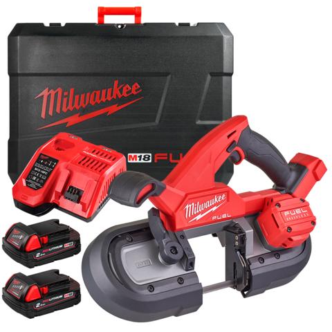 Milwaukee M18 FBS85-202C Kompakti vannesaha 18V 2x2,0Ah